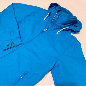 Land's End Hooded Windbreaker Jacket
